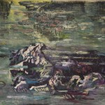 Sam Samiee - Hommage to Monet's waterlilies,