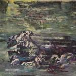 Sam Samiee - Hommage to Monet's waterlilies,