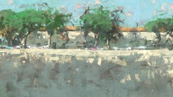 15.034 Drogend wasgoed - Maremma (Toscane)