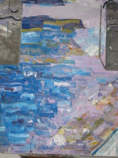 kanaal, 150 x 125, olieverf, 2013/2014