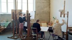 Thomas Manneke-Students Painting